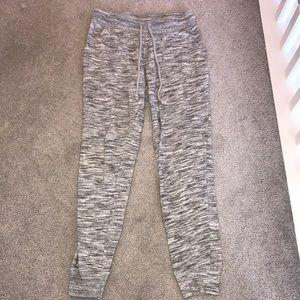 Gray joggers sweatpants